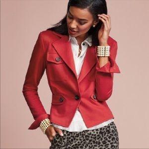 Cabi Little Red Blazer Jacket